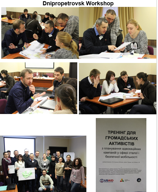 Dnipro workshop photos